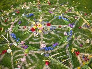 AILN U Earthday community Mandala