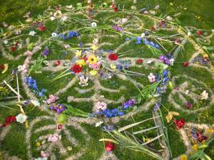 AILN U Earthday community Mandala